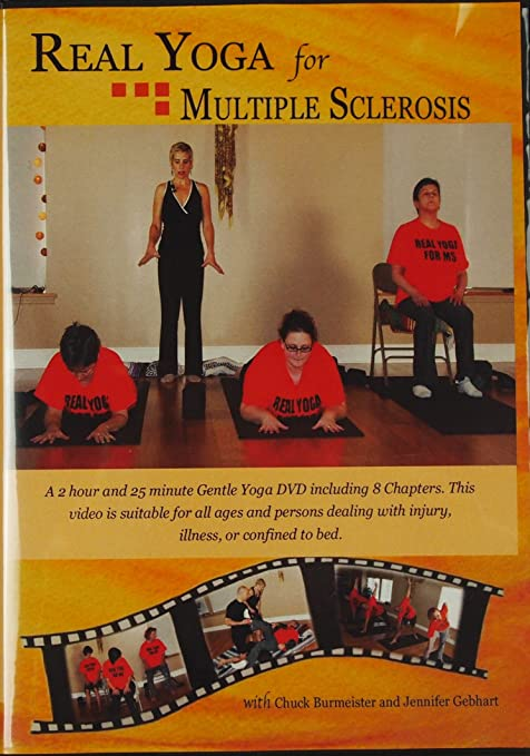 Amazon.com: Real Yoga for Multiple Sclerosis | Chair Floor ...