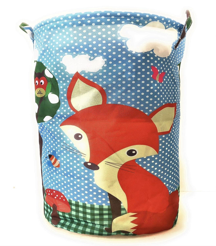 Kinderzimmer Utensilo Box Spielzeug Wäsche Korb Aufbewahrung Fuchs Wald Tiere Generic