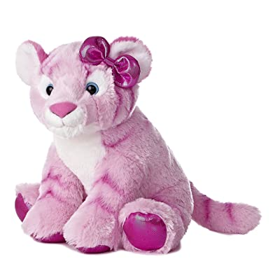 "Aurora World Girlz Nation Pink Tiger Plush, 12"": Toys & Games"