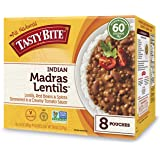 Tasty Bite Indian Madras Lentils, 10oz Pouches (Pack of 8)