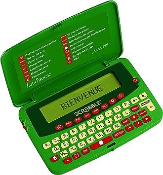 Amazon.es: Lexibook SCF-428FR - Diccionario electrónico Oficial del Juego de Scrabble ODS7, Larmousse FISF, árbitro, Corrector de ortografía, 400.000 Palabras, definiciones