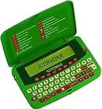 LEXIBOOK SCF-428FR - Dictionnaire électronique officiel du jeu de Scrabble ODS7 Larousse FISF, jeux de lettres. Arbitre. Correcteur d'orthographe, 400.000 mots, définitions. 4 jeux