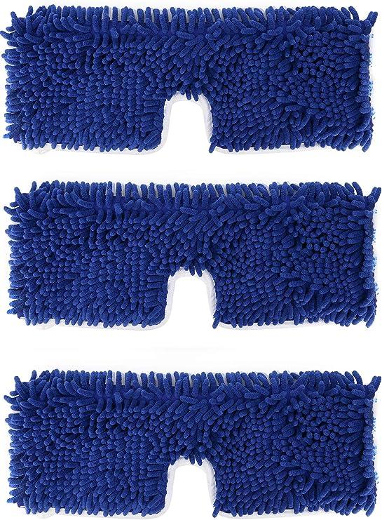 Swivel Sweeper Clean Sweep Cleaner Broom Wooden Floor Replacement Refills 3pk