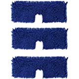 3 Pack Mop Refills Compatible with Microfiber Mop, Replacement Mop Heads for Dry/Wet Use, Machine Washable Double Sided All S