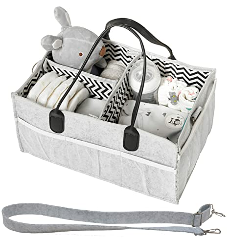 Amazon.com: Organizador de pañales para bebés, pañales de ...