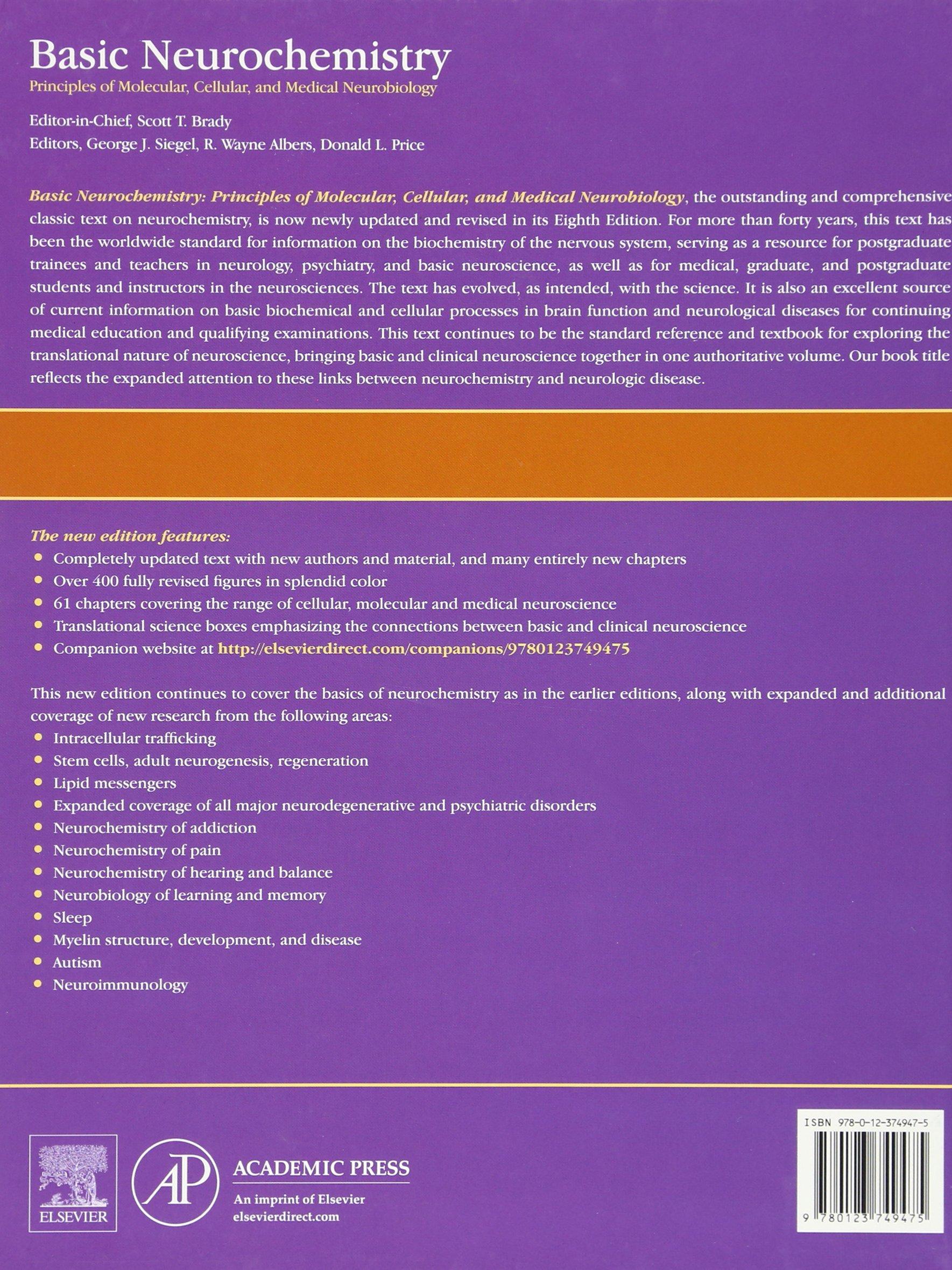 Pdf edition basic 8th neurochemistry