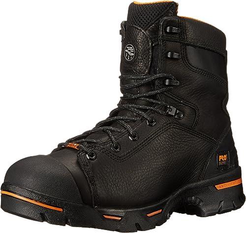"Timberland PRO Men's Endurance 8"" Steel Toe Work Boot"