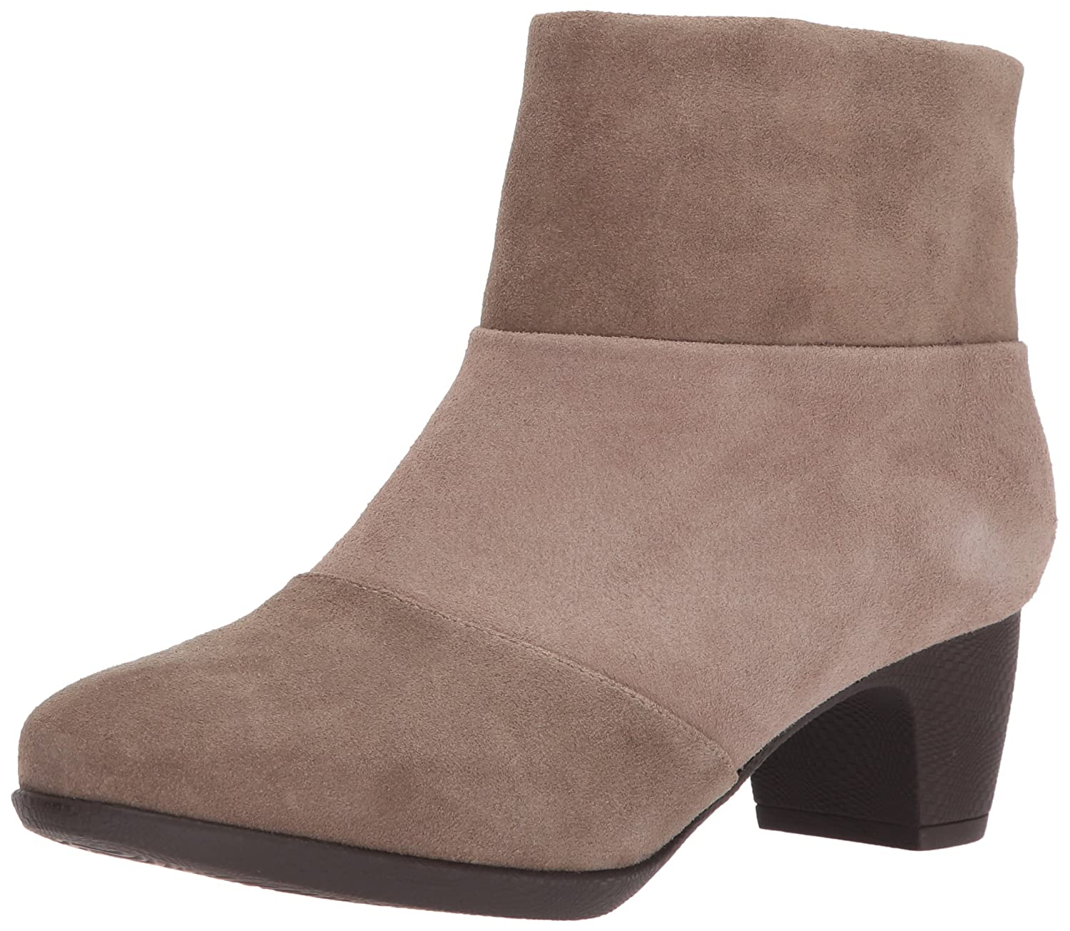 SoftWalk Women's Inspire Ankle Bootie B01NALL4OD 7.5 W US|Dark Taupe