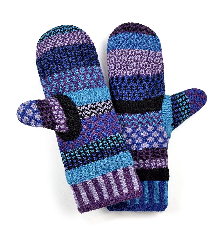 Solmate Socks レディース 不一致フリース裏地ミトン B01KW1R49Q ワンサイズ|ラズベリー ラズベリー ワンサイズ