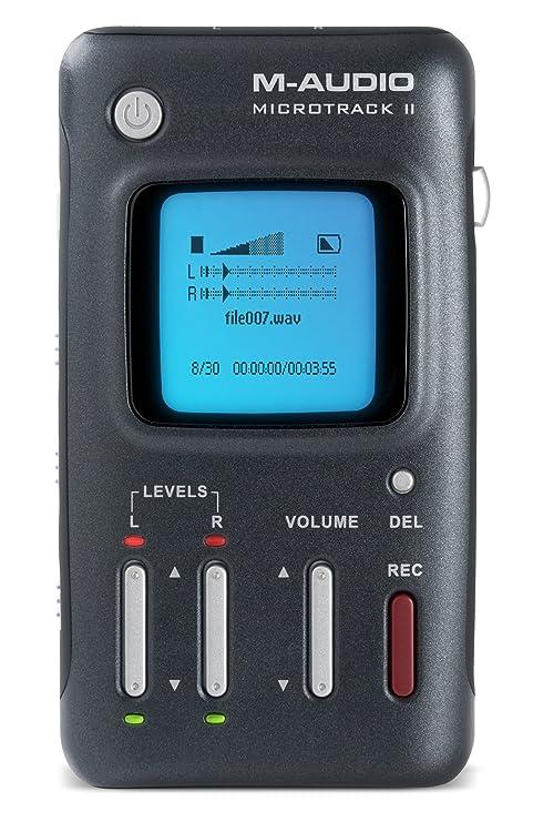 M-audio microtrack ii digital multi track recorder | ebay.