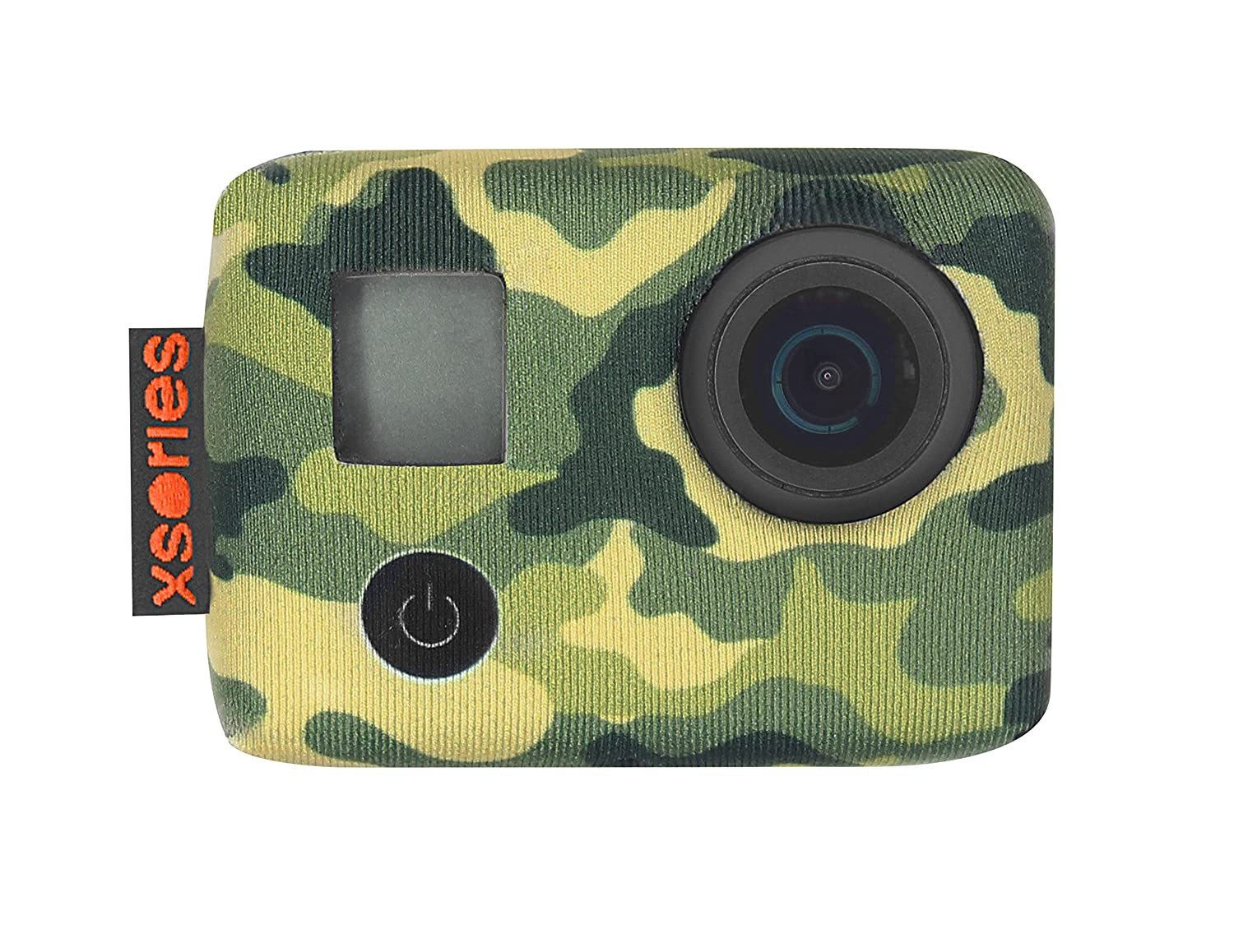 XSories TuXSedo Lite, Neoprene Jacket For GoPro HERO3, HERO3+, HERO4 Cameras Without Housing (Jungle Camo) TXSD3A808