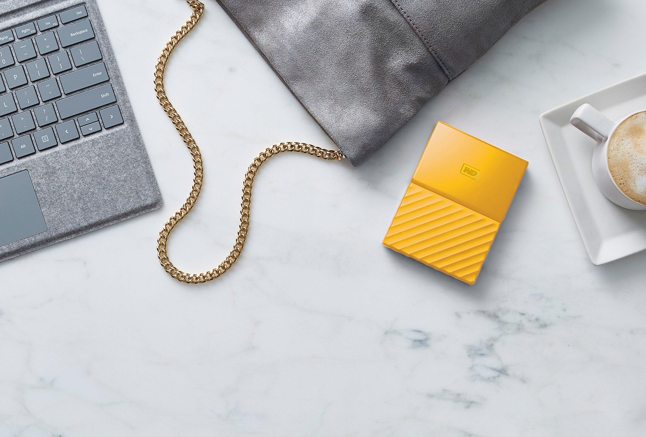 WD 2TB Yellow My Passport Portable External Hard Drive - USB 3.0 - WDBYFT0020BYL-WESN by Western Digital (Image #5)