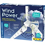 Thames & Kosmos Wind Power V4.0 STEM Experiment Kit | Build a 3ft Wind Turbine to Generate Electricity | Learn About…