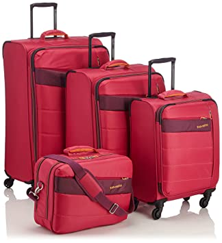 "Travelite Set de bagage ""Kite"" 4 pcs rose Juego maletas, 75 cm"