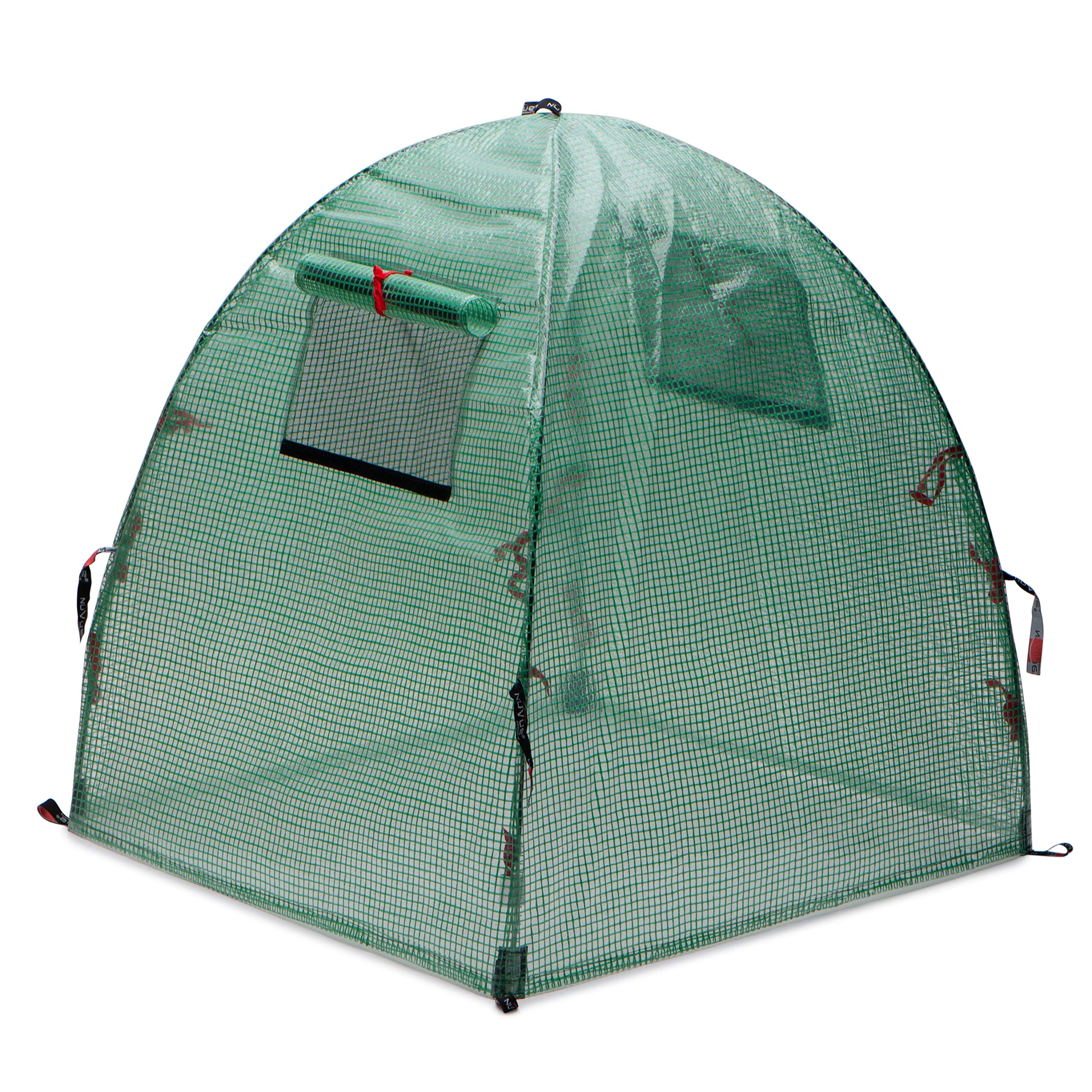 Nuvue Products 24045 pop-Open Greenhouse, Green