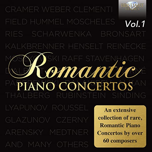 Romantic Piano Concertos Vol 1 By Various Artists On Amazon Music Amazon Com
