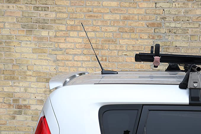 Mazda 3 5 6 Protégé JDM Red Carbon Aluminum Screw-in Car Auto AM//FM Antenna