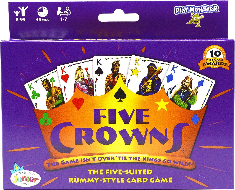 SET Enterprises Five Crowns Card Game: Toys & Games