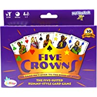 SET Enterprises Five Crowns Card Game, Purple (4001)