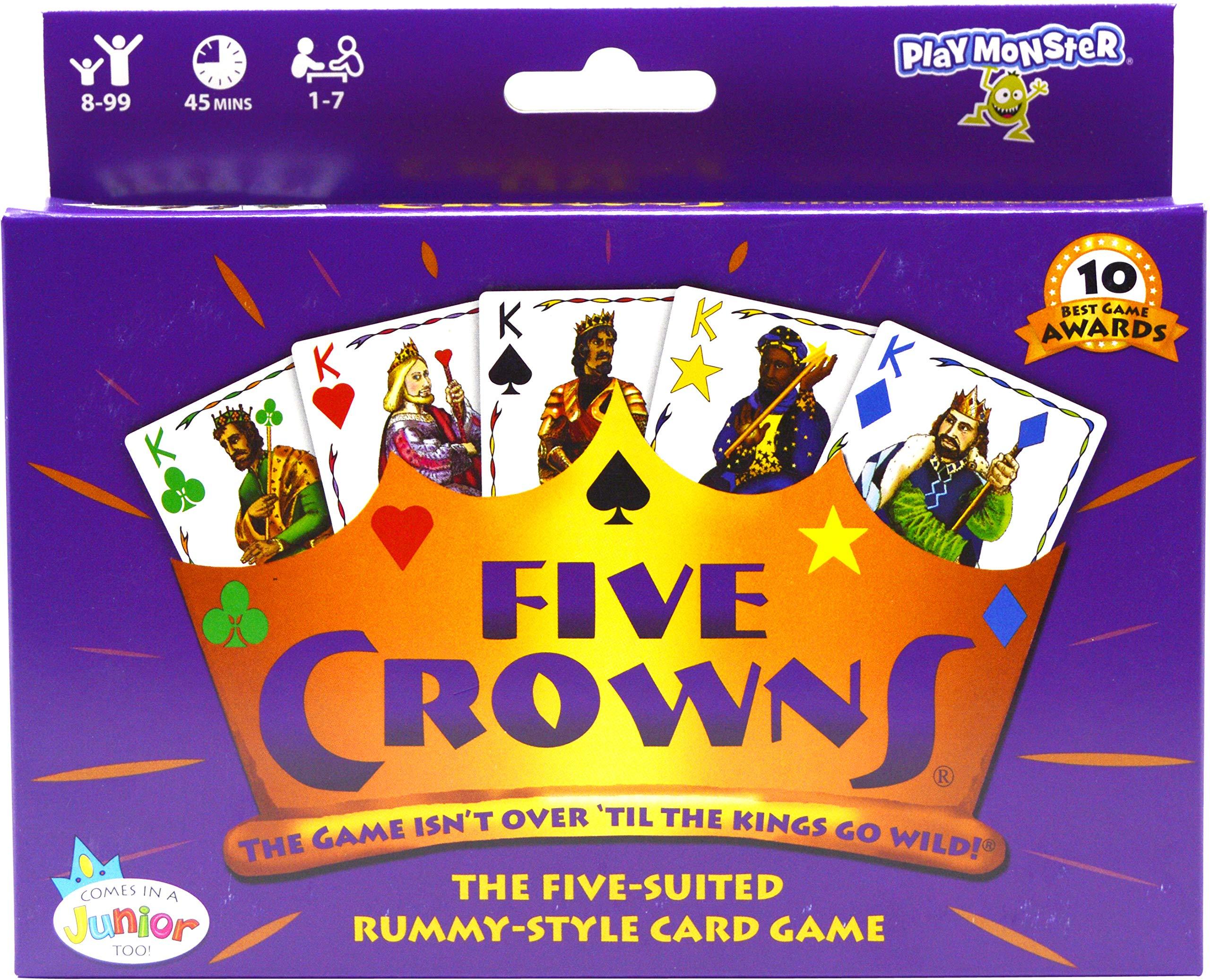 SET Enterprises Five Crowns Card Game