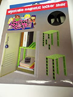 Great Adjustable Magnetic Locker Shelf (Fits Lockers 12   15 Inches Wide)