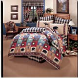 The Woods 8 Pc Queen Comforter Set (Comforter, 1 Flat Sheet, 1 Fitted Sheet, 2 Pillow Cases, 2 Shams, 1 Bedskirt) SAVE BIG ON BUNDLING!