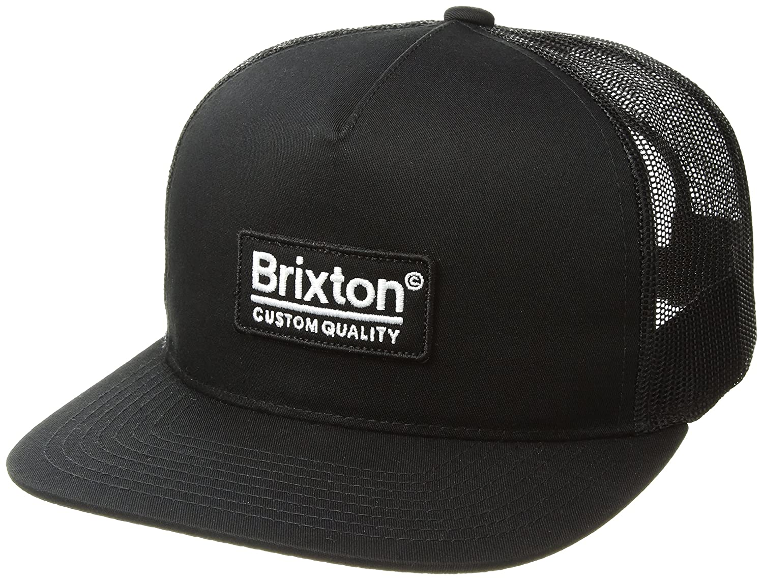 b70418a7181ed Brixton Men s Palmer Medium Profile Adjustable MESH HAT