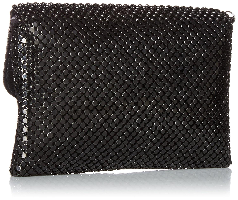 866fec1c52 Jessica McClintock Brooklyn Envelope Mesh Clutch, black: Handbags:  Amazon.com