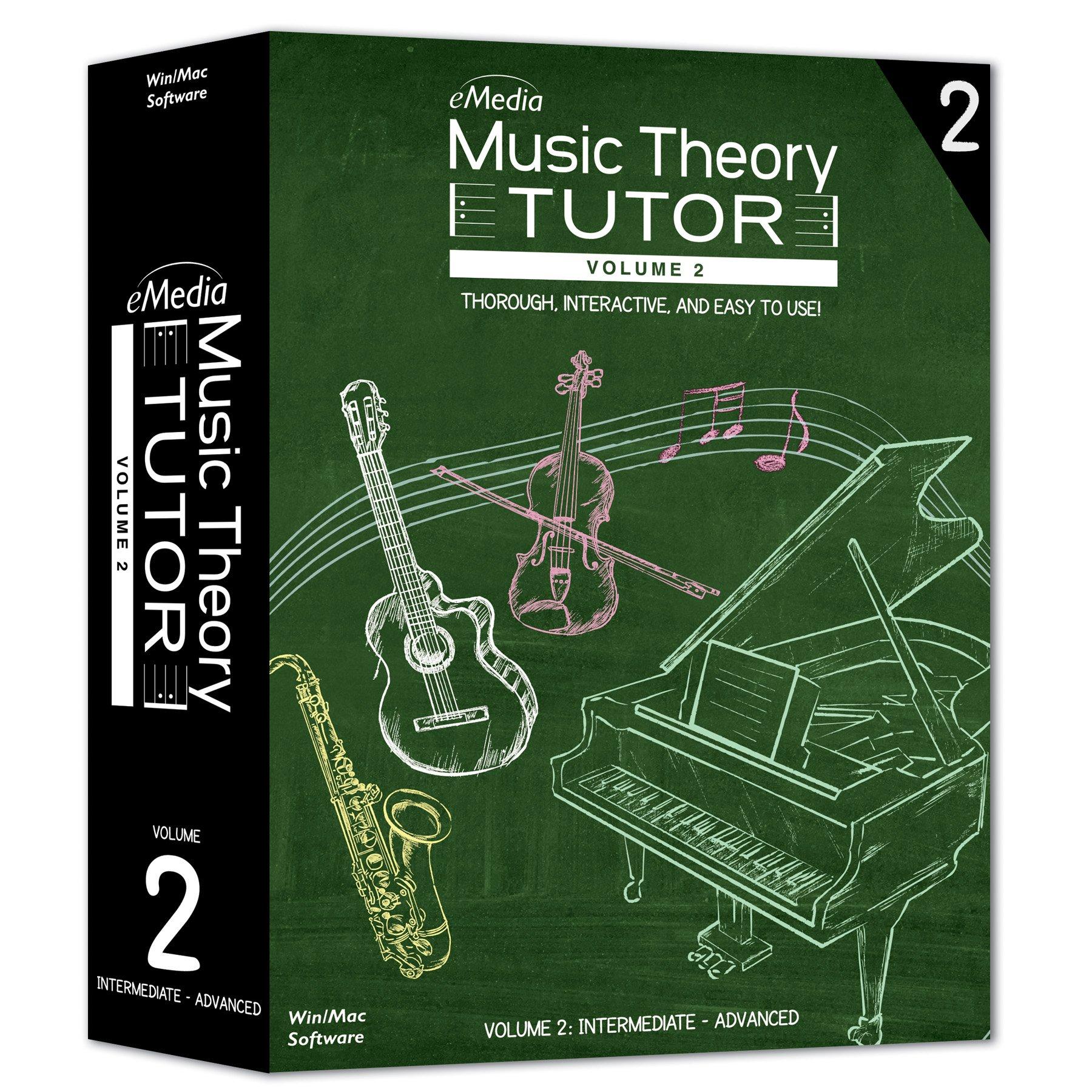 eMedia Music Theory Tutor, Volume 2
