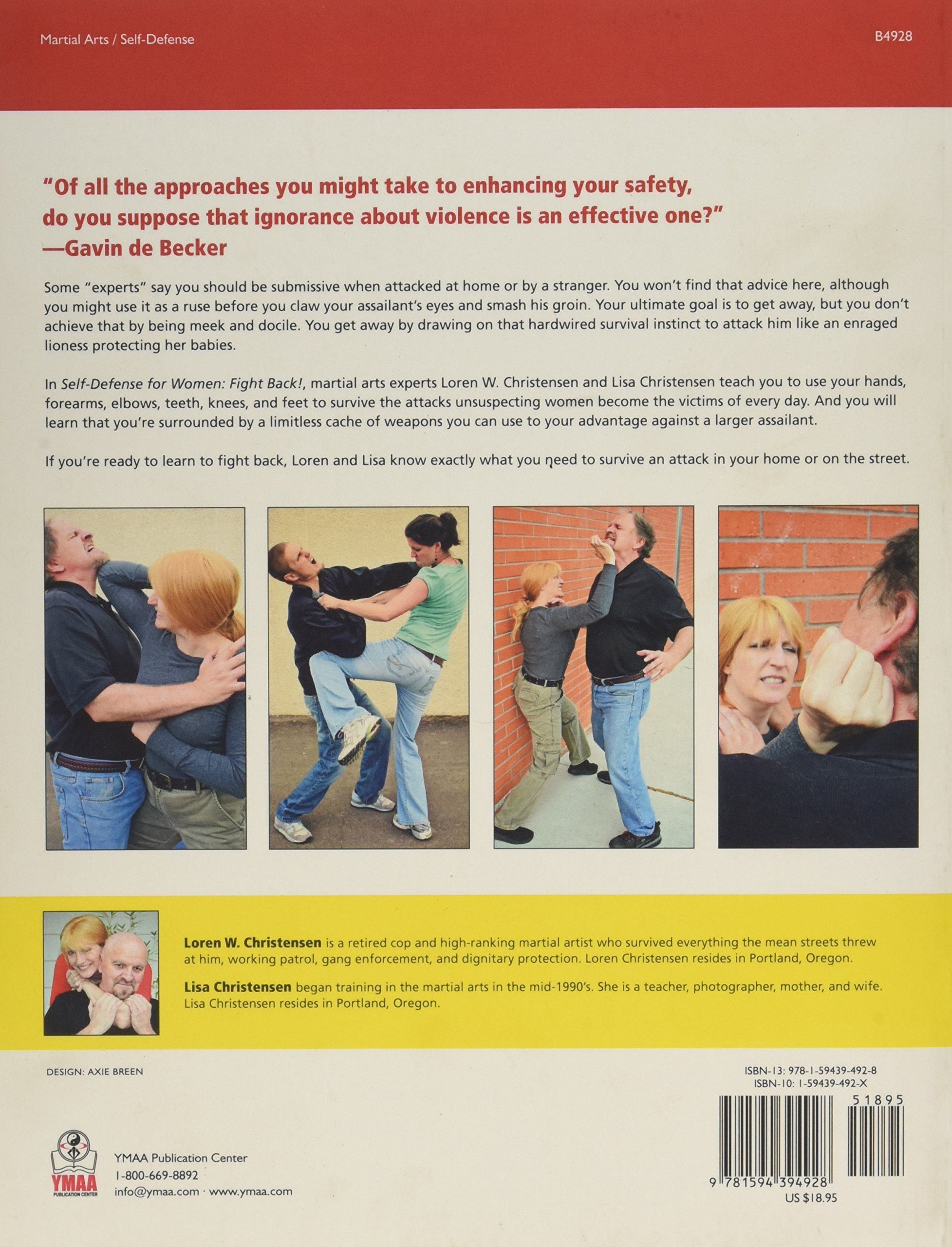 Self-Defense for Women: Fight Back: Loren W Christensen, Gavin de Becker,  Lisa Place: 9781594394928: Amazon.com: Books