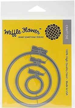 Waffle Flower Crafts 310163 Die-Embroidery Hoops