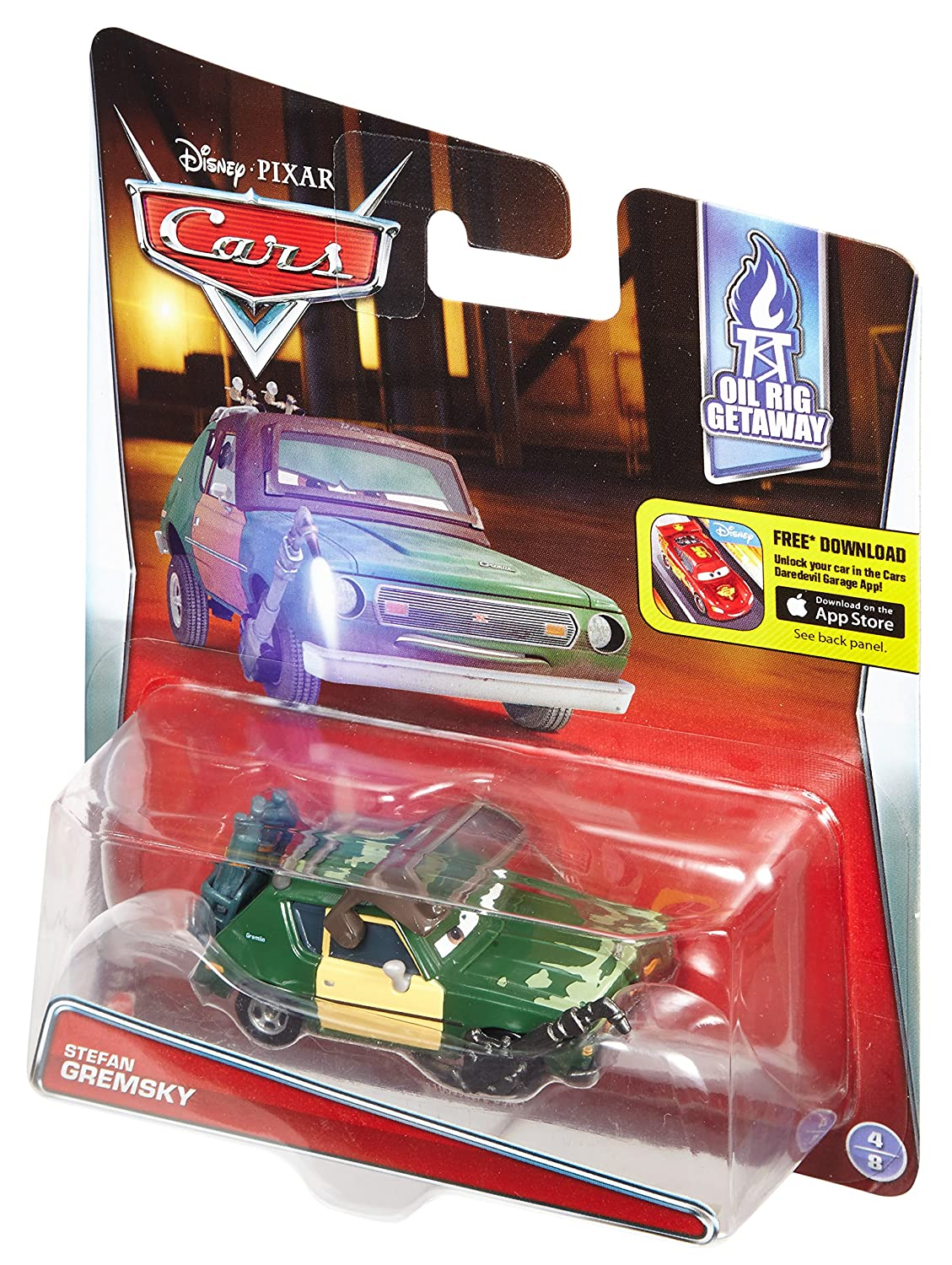 Disney/Pixar Cars Diecast Green Grem with Visor & Torch Vehicle: Amazon.es: Juguetes y juegos