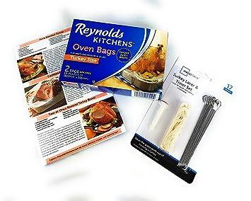 Asado a Turquía Kit - Reynolds horno bolsas con aves Lacer ...