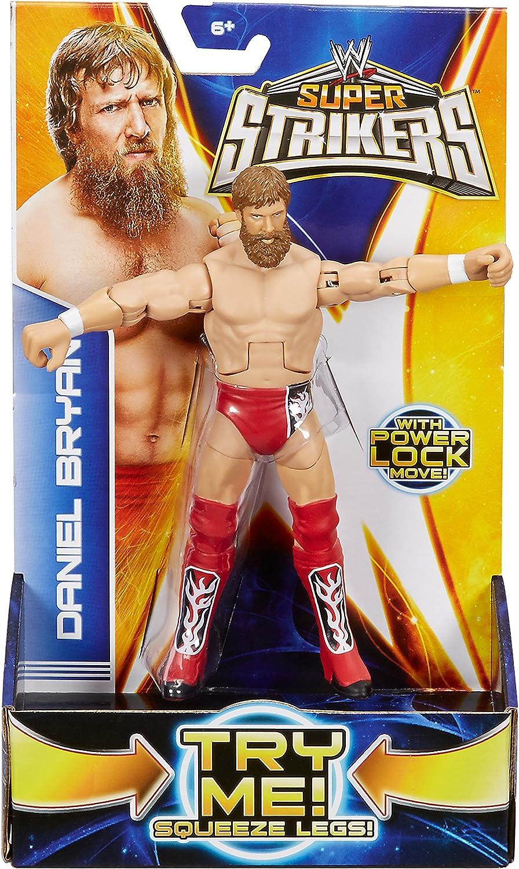 WWE Super Strikers Daniel Bryan 6-inch powerlock figure Mattel 2015