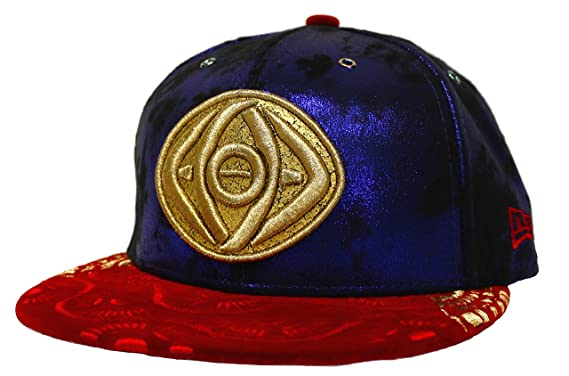 7344e6966e6 New Era 59Fifty Doctor Strange Marvel Character Fitted Cap 3D Eye of  Agamotto Dr. Strange