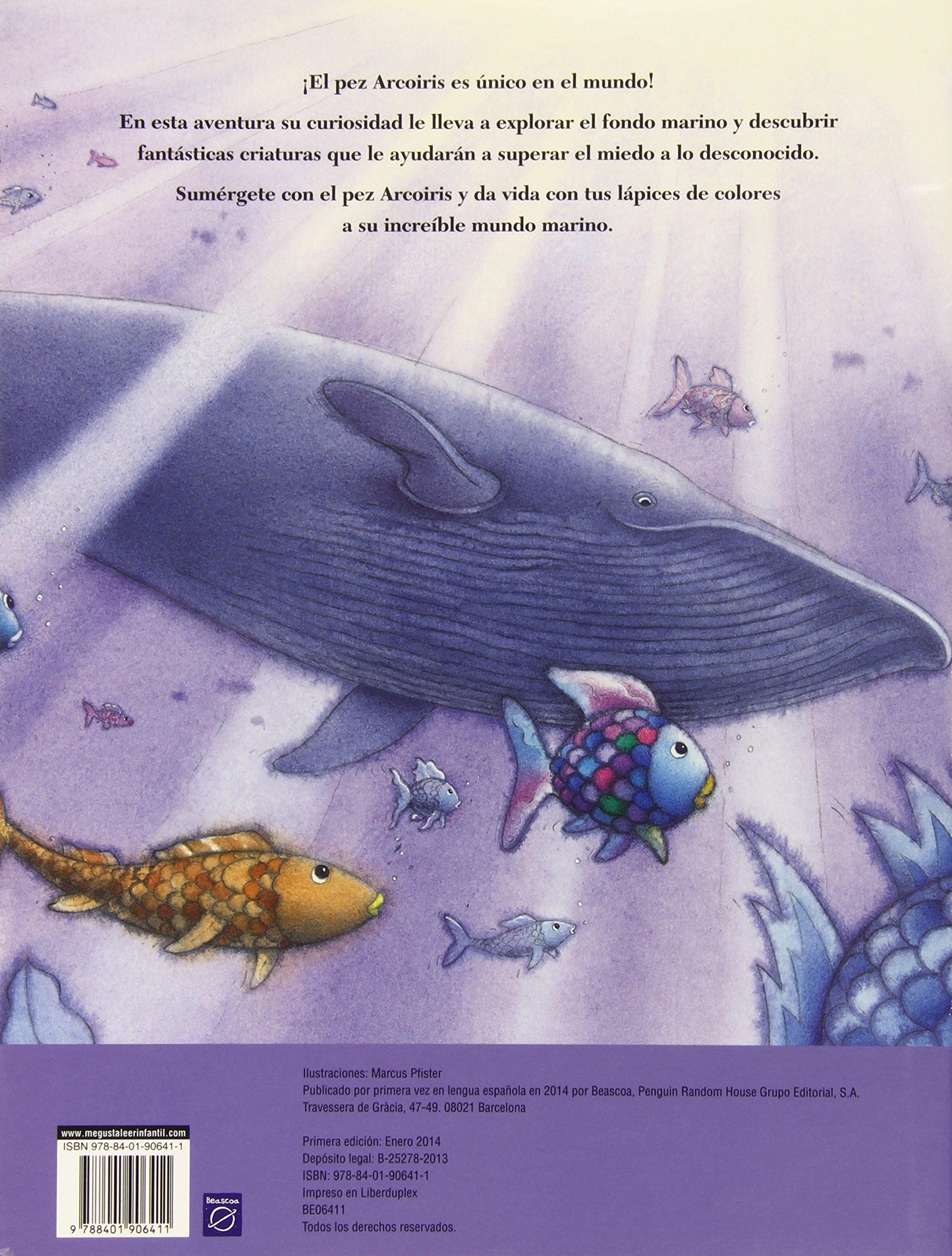 Pinta con el pez Arcoíris El pez Arcoíris. Actividades El pez ...