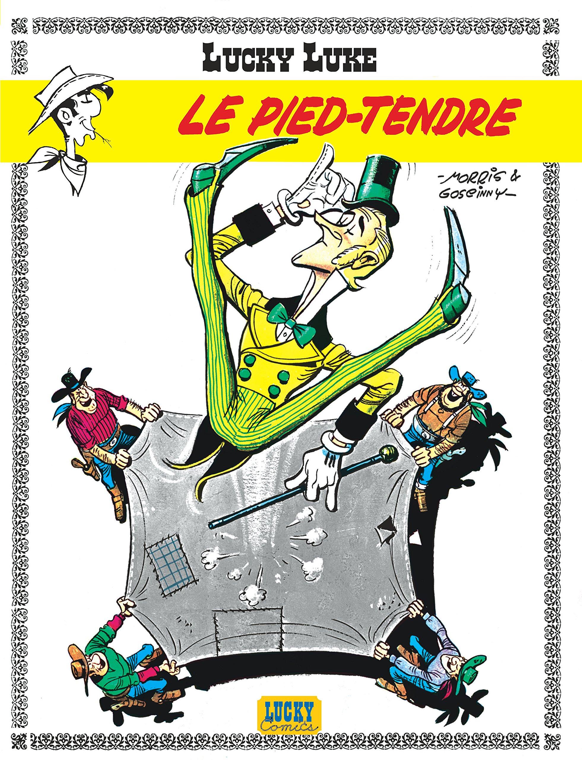 Lucky Luke: Lucky Luke 2/Le Pied Tendre