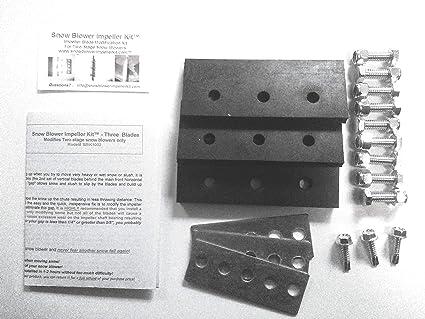 Snow Blower Impeller Kit - 1/4