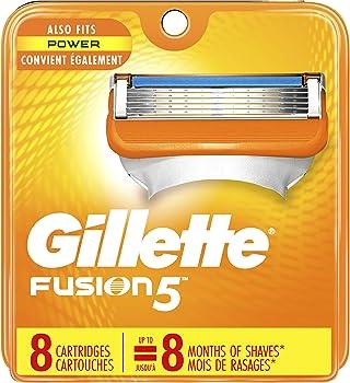 8-Count Gillette Fusion5 Men's Razor Blade Cartridge Refills