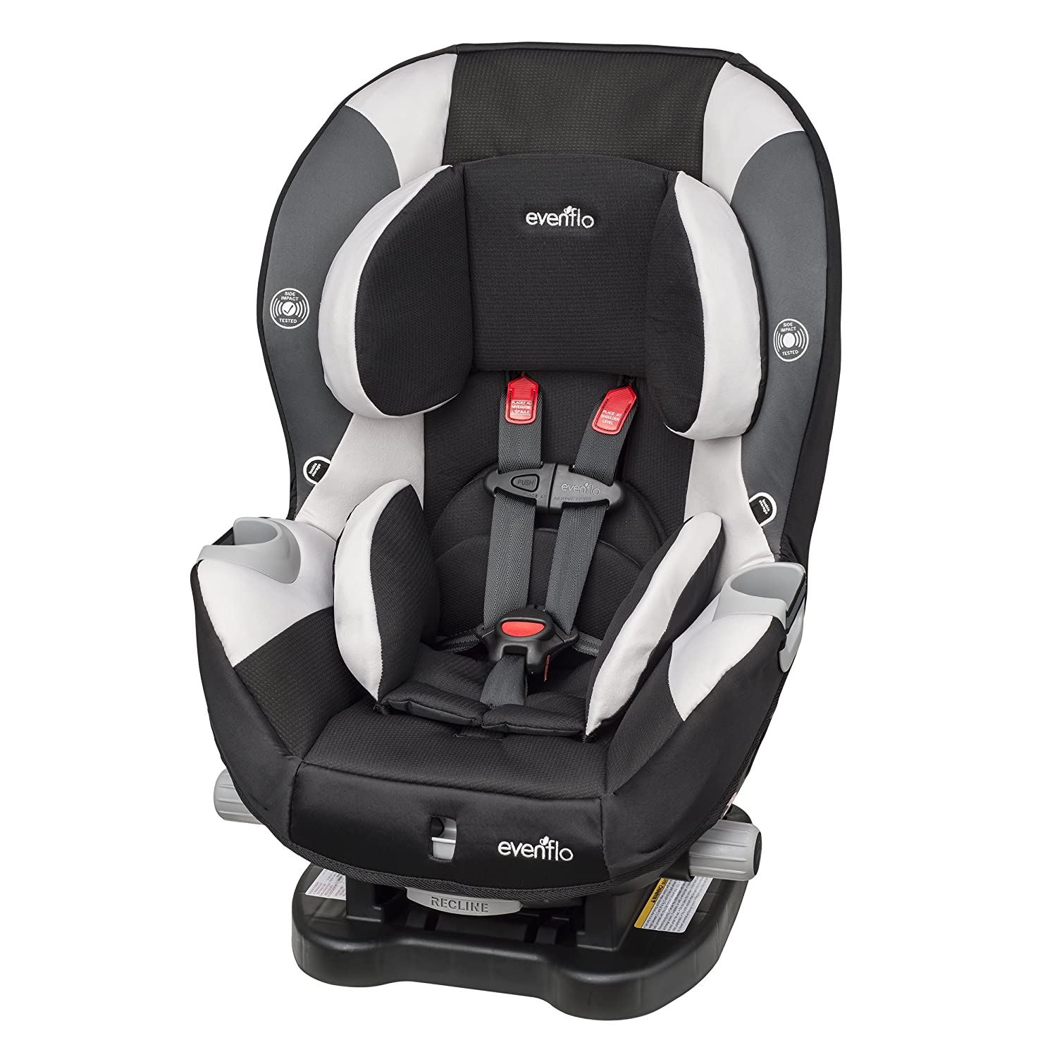 Evenflo Triumph LX Charleston Car Seat, Black/Grey/Beige 38211712