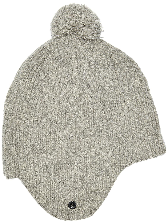 Neff Men 's Territory Earflap Hat One Size グレー B01HIVOG3U