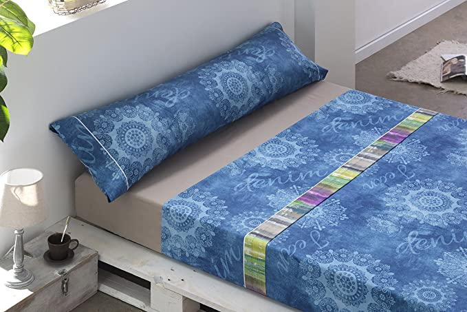 Gale Hayman Style Lois - Juego de sábanas, algodón-poliéster, 38 x ...