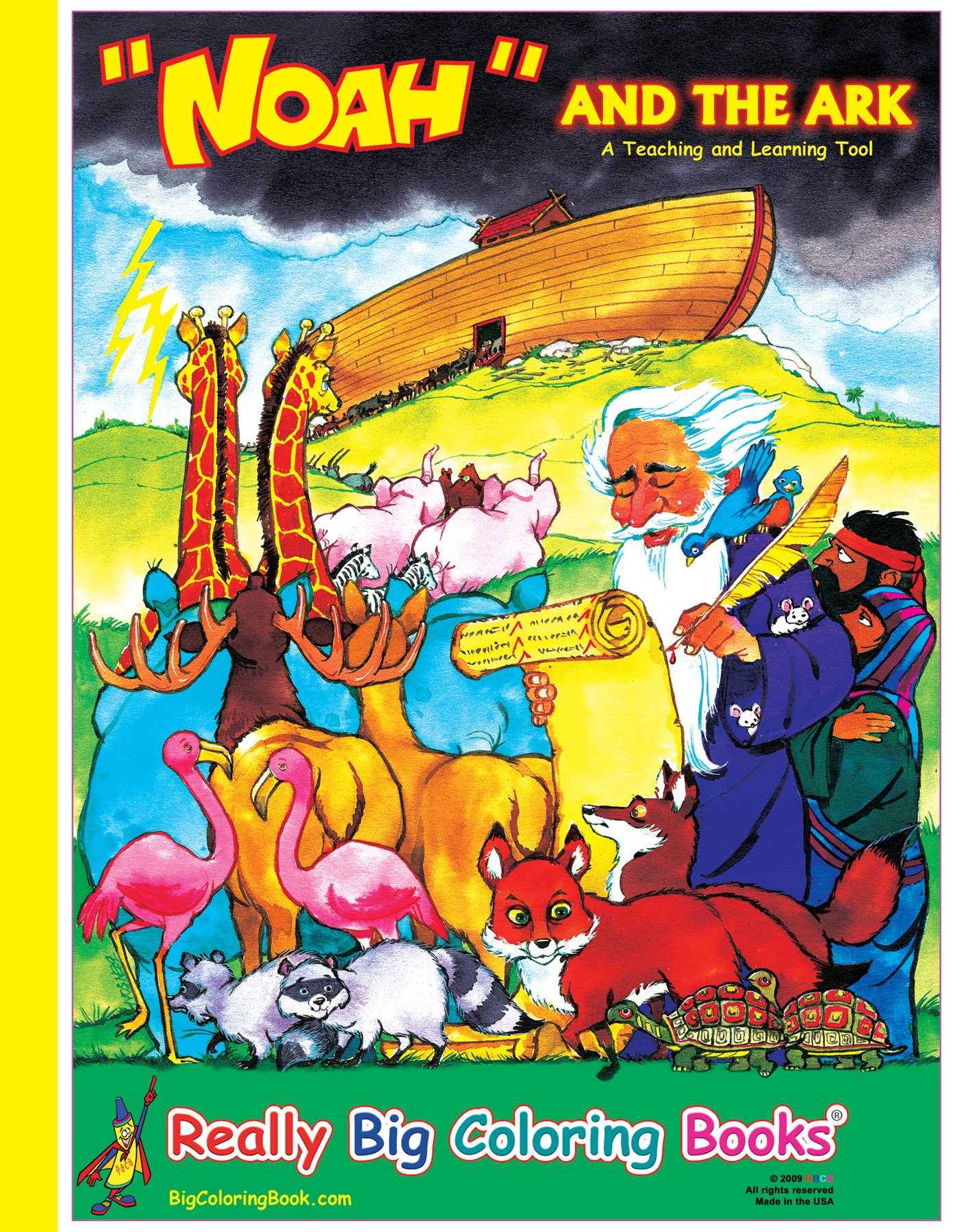Noah and the Ark Giant Super Jumbo Coloring Book