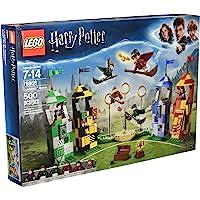 LEGO Harry Potter, Juego de construccion Partido de Quidditch, 500 piezas (75956)