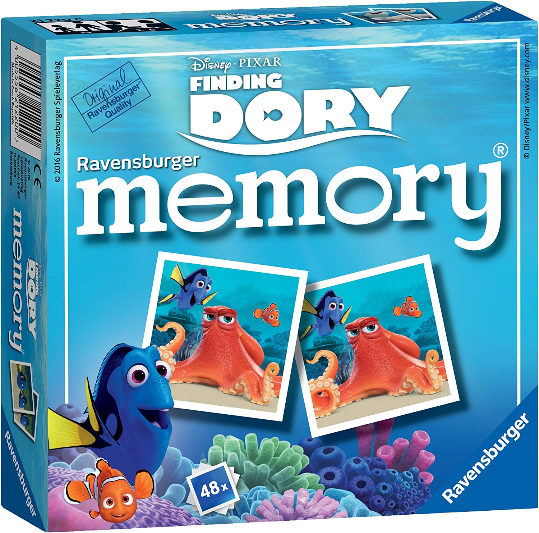 Ravensburger Disney - Juego de Mesa Memory de Buscando a Finding Dory Mini Memory: Amazon.es: Juguetes y juegos