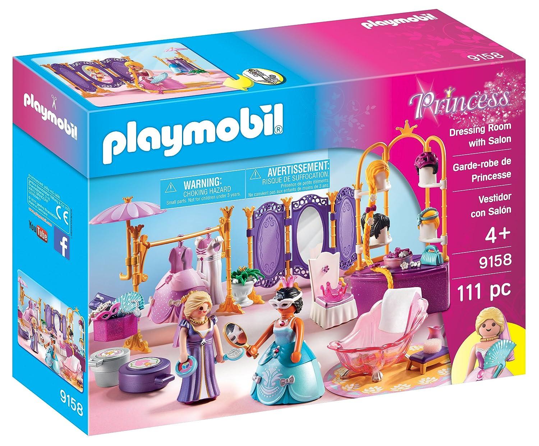 Amazon.com: Playmobil Vestidor con el salón: Toys & Games
