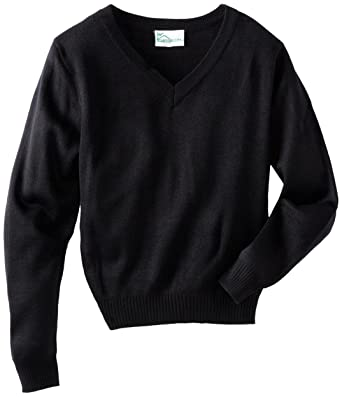 Amazon.com: CLASSROOM Boys' Uniform Long Sleeve V-Neck Sweater ...
