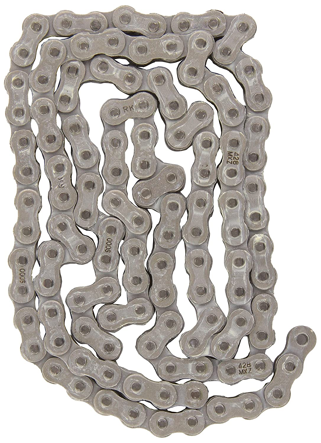 RK Racing Chain 428MXZ-124 124-Links MX Chain with Connecting Link
