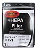 (2) 60286 Eureka HF-1 HF1 Hepa w/activated Charcoal vacuum Filter, True Hepa, Excalibur, Europa, Oxygen & WhirlWind Canisters, Whirlwind upright bagless series, Sanitaire Precisions & System Pro, Red Electrolux Canister vacuum cleaners, 60286A 60286B 6028