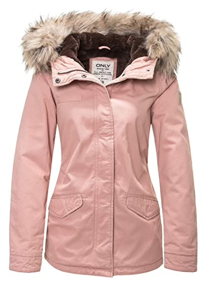 Amazon Only Otw Onljosephine Fur Donna CC Parka it Abbigliamento rwrYqI1